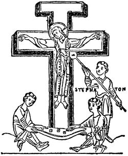 naken korsfästelse flicka