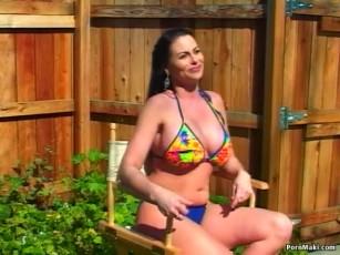 raine bikini harley