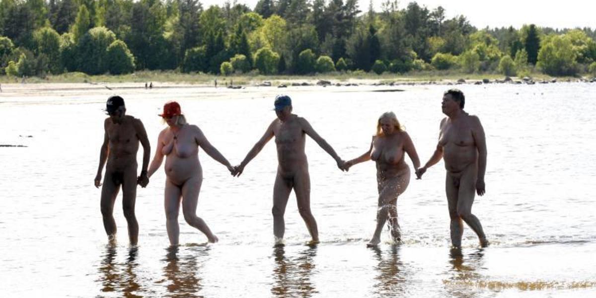 familjen naturister unga