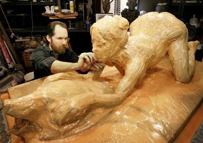 spears skulptur britney