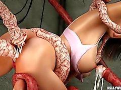 pojke porr tentakel