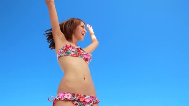 dansshow bikini
