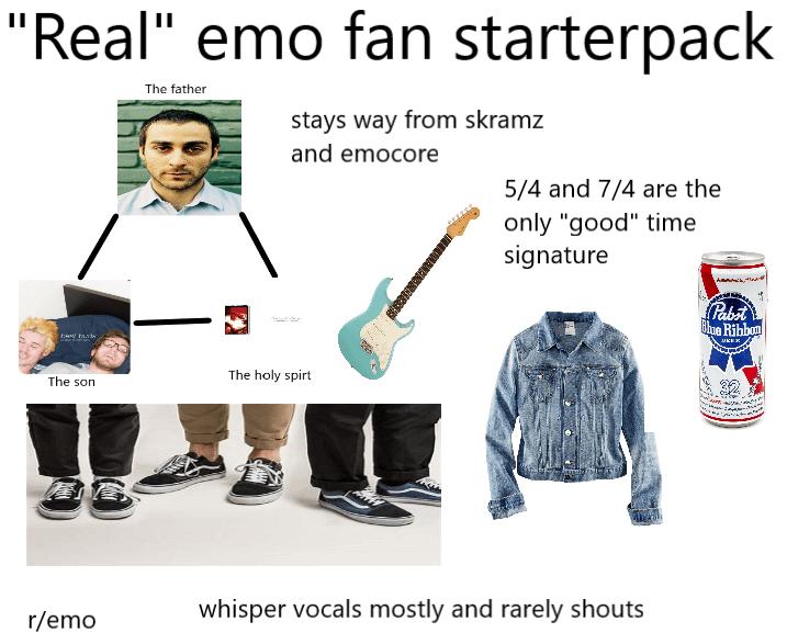 emo fan amatör