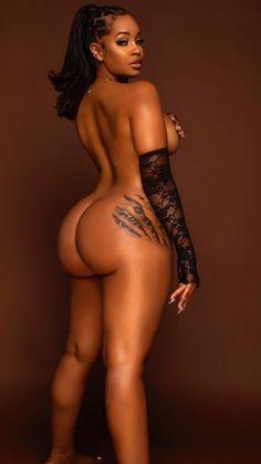afro modeller kurviga