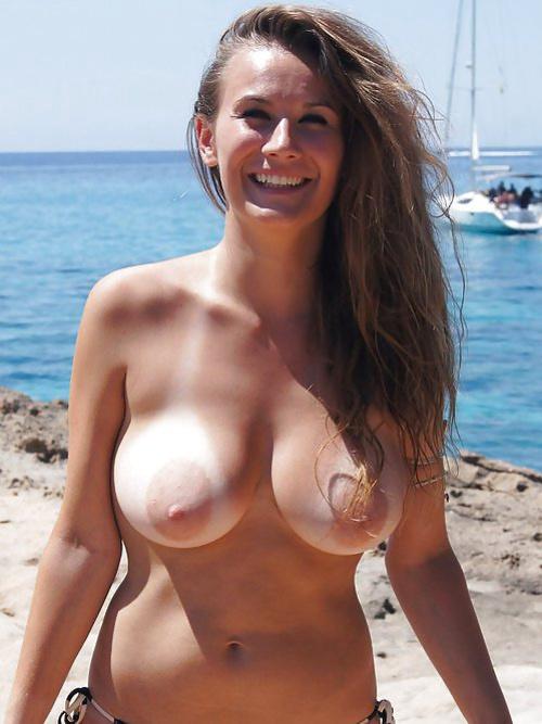 beach boob topless