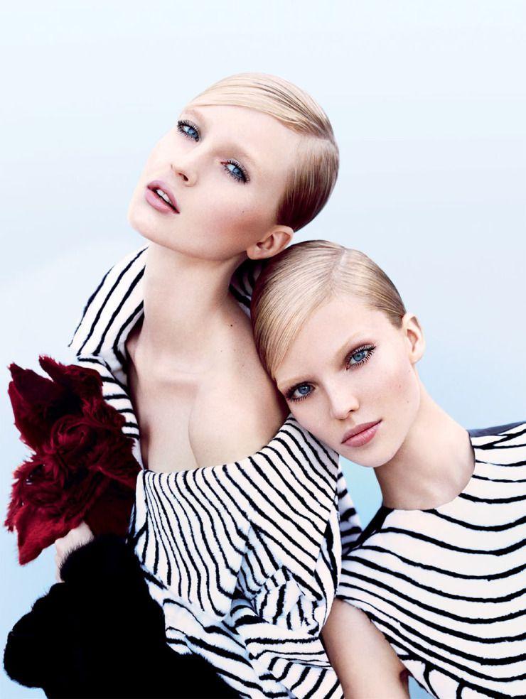 sasha lesbiska tvillingar