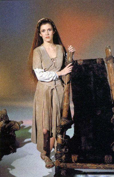 naken prinsessa leia
