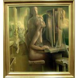 liv nudist surrealistiskt