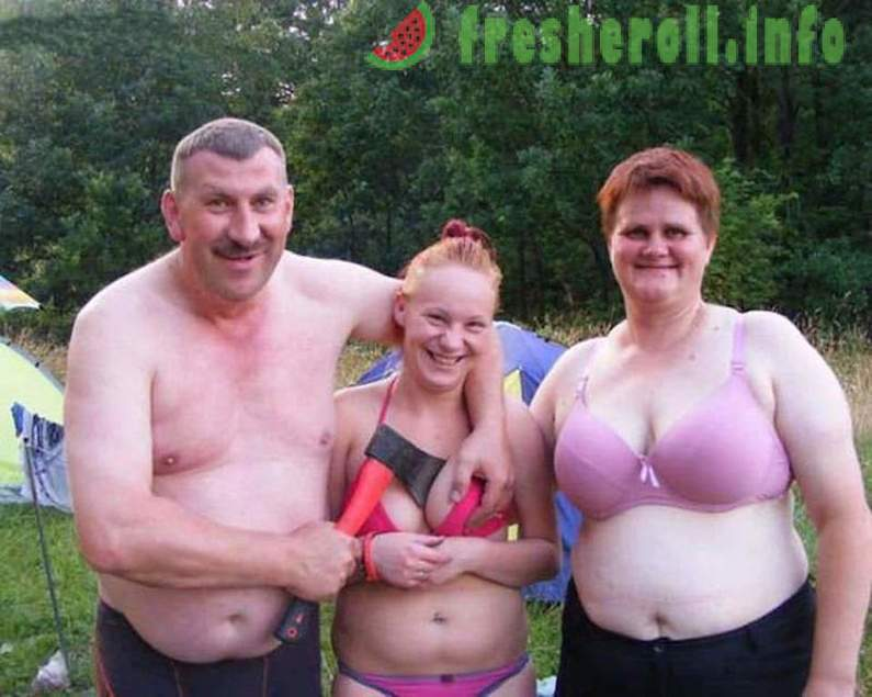 nudism livet familjen